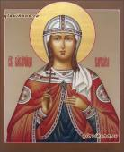 Варвара Илиопольская писаная икона артикул 6235