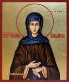 Писаная икона святой Мелании артикул 6240