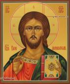 Писаная икона Господа в старинной стиле артикул 604