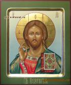 Господь, рукописная икона, артикул 606