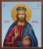 Образ Господа Вседержителя со скипетром и державой икона артикул 629