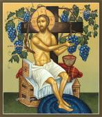 Икона Христос Виноградная лоза (Спас Виноградная лоза), артикул 620