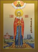 Мерная икона Великомученицы Варвары артикул 125
