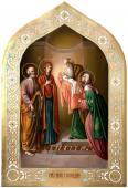 Сретение Господня, писаная икона артикул 418