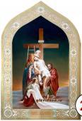 Праздничная икоан Снятие со креста, артикул 423