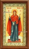 """Образ Богородицы """"Нерушимая стена"""", икона в деревянном киоте"""