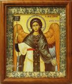 Икона Архангела Михаила в византийском стиле артикул 60606