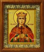 Императрица Александра Феодоровна икона на холсте в киоте артикул 60608