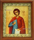 Святой праведный Иоанн Русский икона на холсте в киоте артикул 60623