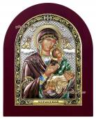 """Пресвятая Богородица """"Страстная"""", икона в себерянной ризе, артикул 42019"""