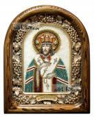 Иннокентий Иркутский, икона из бисера, артикул ДВ71097