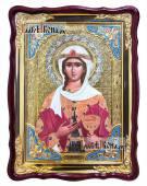 Мученица Варвара, храмовая икона 60х80 см