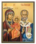 Оковецкая (Ржевская) Божия Матерь, писаная на деревянной доске икона