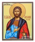 Александр Невский икона рукописная артикул 6116