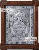 Неупиваемая Чаша икона из серебра артикул 11175