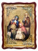 Рождество Пресвятой Богородицы икона размером 60х80 см