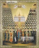 Собор Печерских святых, печатная икона