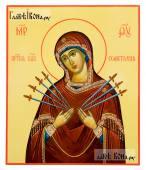 Семистрельная икона Божией Матери артикул 288
