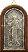 Ангел Хранитель икона из серебра артикул 11127