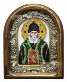 Паисий Святогорец дивеевская икона из бисера