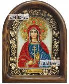 Раиса Ираида Александрийская дивеевская икона из бисера