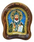 Кирилл Равноапостольный, дивеевская икона из бисера