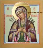 Семистрельная икона Божией Матери, артикул 237
