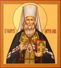 Икона Филарета митрополита Московского, артикул 565
