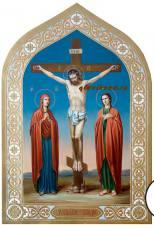 Икона распятия Христова