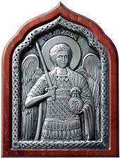 серебренная икона архангела михаила