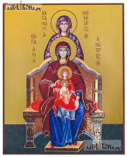 Богородица со сродницами, праведными Анной и Марией - артикул 90488 - вид сбоку