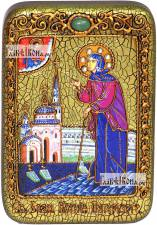 Ксения Петербургская (ростовая), икона подарочная в футляре, 10х15 см