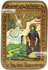 Ирина Каппадокийская (Хрисоволанта), икона подарочная в футляре, 10х15 см