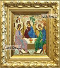 Вышитая икона Пресятой Троицы, артикул 71900