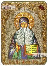 Максим Грек преподобный, аналойная икона подарочная