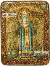 Алексий, митрополит Московский и всея России, аналойная икона подарочная