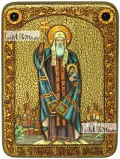Ермоген, патриарх Московский и всея Руси, аналойная икона подарочная