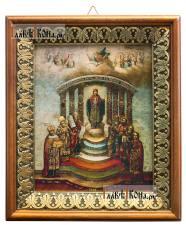 София - Премудрость Божия, икона на холсте в киоте-рамке