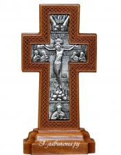 Крест на подставке из дерева