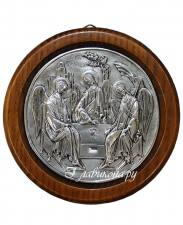 Икона Троицы круглая