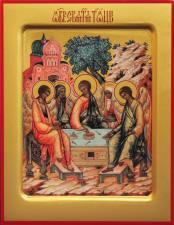 Троица с Авраамом и Сарой