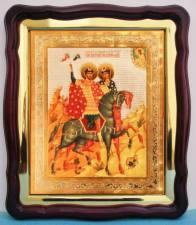 Борис и Глеб, аналойная икона (43 х 50 см)