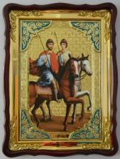 Борис и Глеб, икона храмовая