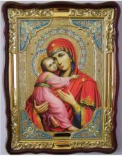 Владимирская Божия Матерь, икона храмовая
