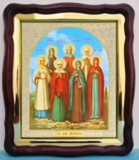Жены-мироносицы, аналойная икона (43 х 50 см)