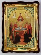 Живоносный источник Божия Матерь, икона храмовая