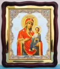 Иверская Божия Матерь, аналойная икона (43 х 50 см)