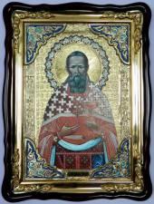 Иоанн Кронштадтский, икона храмовая