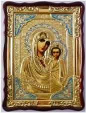 Казанская Божия Матерь (в ризе), икона храмовая