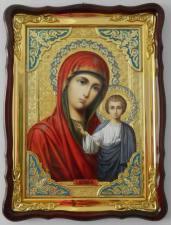 Казанская Божия Матерь, икона храмовая